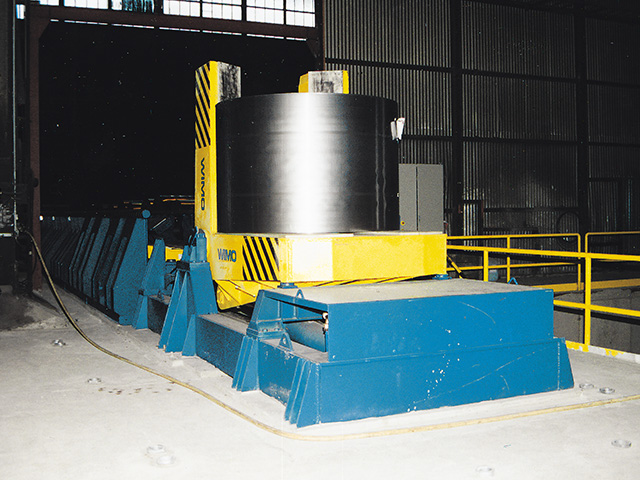 Automatic Tongs Transport Unit Coil Suspension Reel